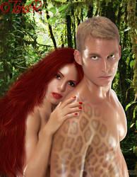 Vaughn and Faith by TariaR
