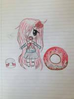 A donut ? :3 by bakagummi