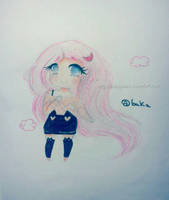 Art trade for CuteMissyCat by bakagummi