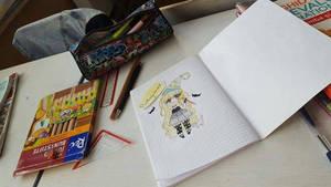 Life in school by bakagummi