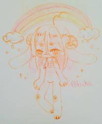half naked but happy by bakagummi