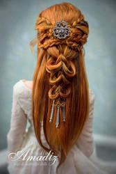 Elven bride by amadiz