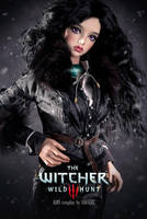 The Witcher: Yennefer of Vengerberg (3) by amadiz
