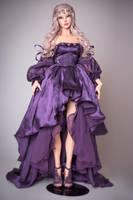 Virginia in a Violet Fantasy Princess Set by amadiz