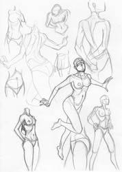 female sketches feb 4 2009 by igm-transformer