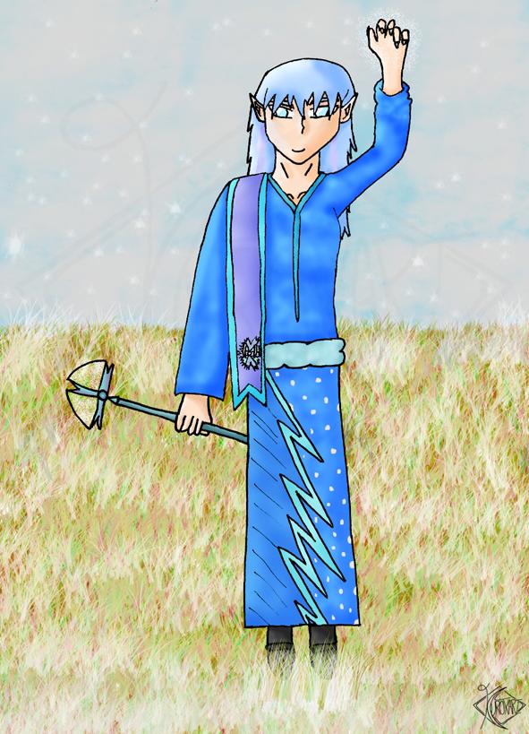 The Ice Mage - Shinkoyu by Kurokari
