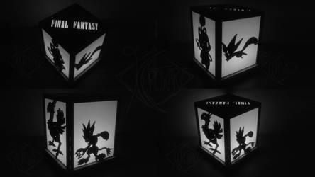 Final Fantasy Lightbox -In the Dark- by Kurokari
