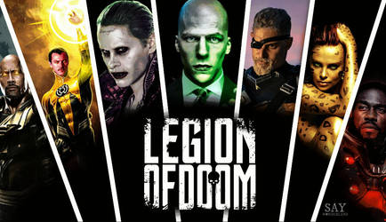 Legion Of Doom / Injustice League by saywonderland