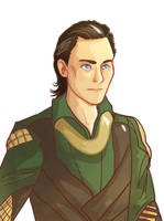Young Loki by pinkwater1211