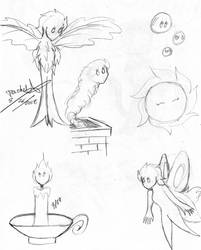 Fantasia- Sketch 2 by WishExpedition23