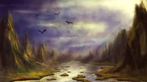 Mystical land by elufie
