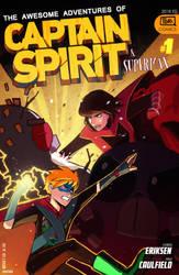 Captain Spirit and Super Max! by QTori