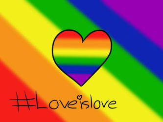 Love is Love (Pray for Orlando) by PinkyPie25800