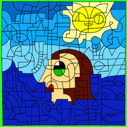 Girl in Ocean (DA's 16th Birthday) by PinkyPie25800