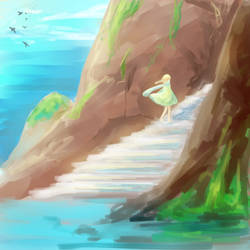 Ocean breeze by kaetyuki