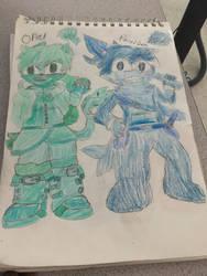 New Sonic Ocs  by SlyZeke101