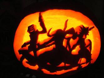 Soul Eater Pumpkin by WugleMaker