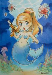 Mermaid Samus ! by Sophie-Dreamy