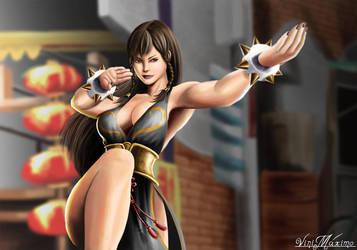 Chun Li Street fighter V by vinnymax