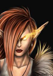 Fire Elf by vinnymax