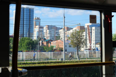 Outside derriere la vitre by lulrik