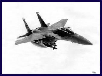 F-15E 'Hind Killer' by fufanu1
