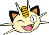 Meowth Wink Avatar by Milfeyu