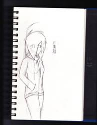 Graphite Sketch (Human) by Killerorca