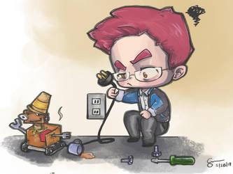 Engineers: The Geeky Frankensteins 21st Century by Azuralyn