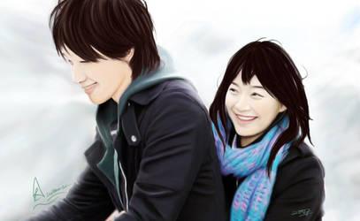 Rain-korean drama by stel7