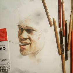 Tyler Durden w.i.p. by channon1217