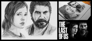 The Last of us drawing by niC00L