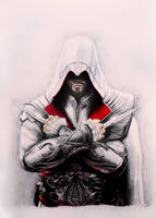 Ezio Auditore - Assassin's Creed Brotherhood by niC00L