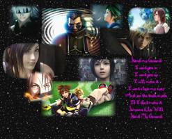 Final Fantasy n Kingdom Hearts by AmayasFantasy