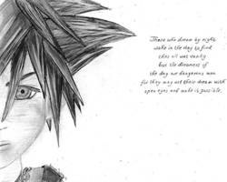 Sora - KH II by AmayasFantasy