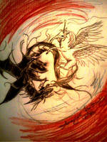 Yin-Yang for Contest by AmayasFantasy