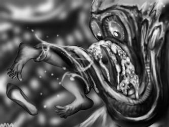 vore horror 1177 by MOLD666