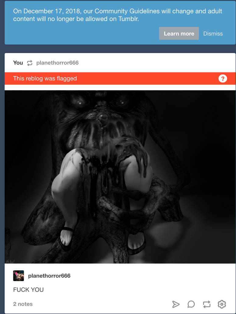 THE END OF TUMBLR by MOLD666