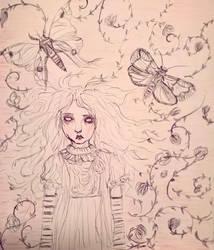 Inktober - Blind by VampyrTenrai