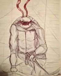 Inktober - Mask by VampyrTenrai