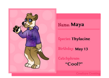 [CC] Maya by Stripe13