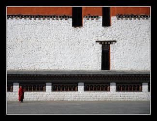 Inside A Dzong by pxc