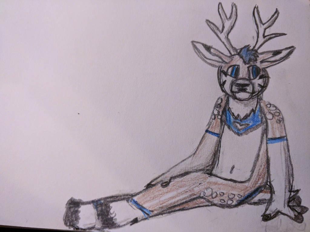 deer friend by TyGuytheTimeTraveler