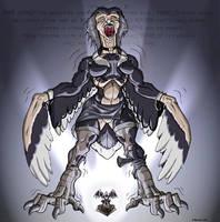 Werebirdy curse by Black-rat