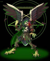 evil warlocky hawk tf by Black-rat
