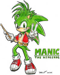 Manic in SA style by VanillaREM