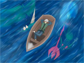 The Ocean by Vitobrine