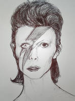 Early in Space (David Bowie) by ManIxed