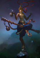Monkey king by Zoonoid