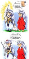 Where did Bakusaiga come from? by Teela-akimako-cz